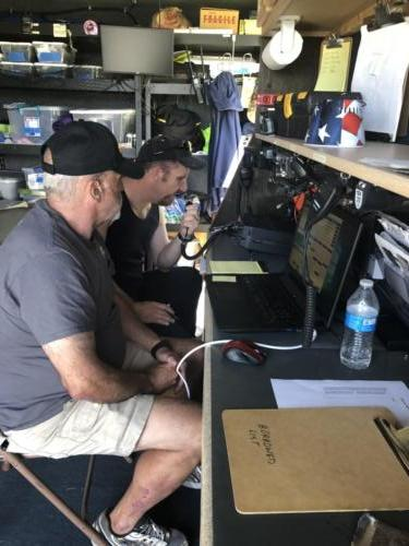 Voice Station at 2019 ARRL Field Day - DCARC at Hooper Park, Utah