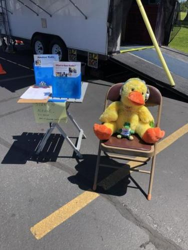 Check in location at 2019 ARRL Field Day - DCARC at Hooper Park, Utah