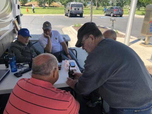 2019 ARRL Field Day - DCARC at Hooper Park, Utah